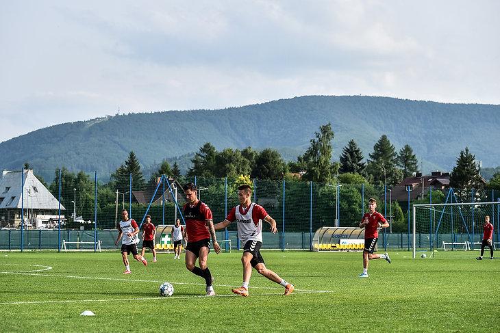 Letnie zgrupowanie piłkarzy GKS Tychy