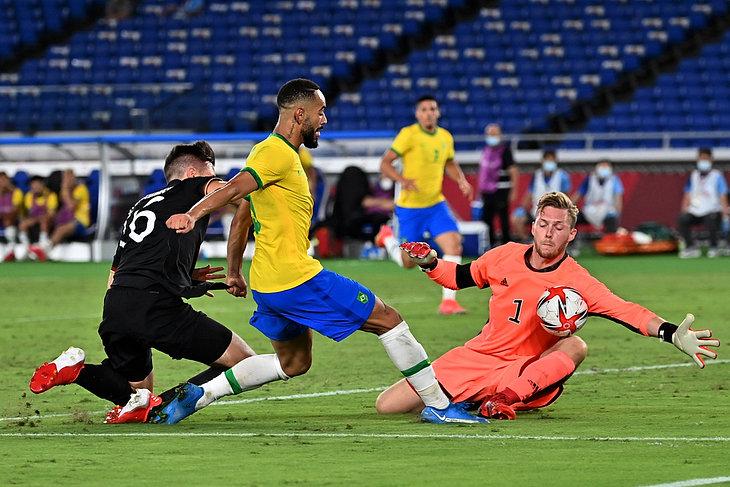 Piłka nożna: Brazylia - Niemcy