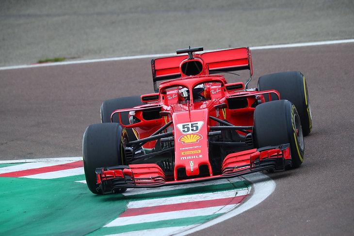 Prywatne testy Ferrari na torze w Maranello