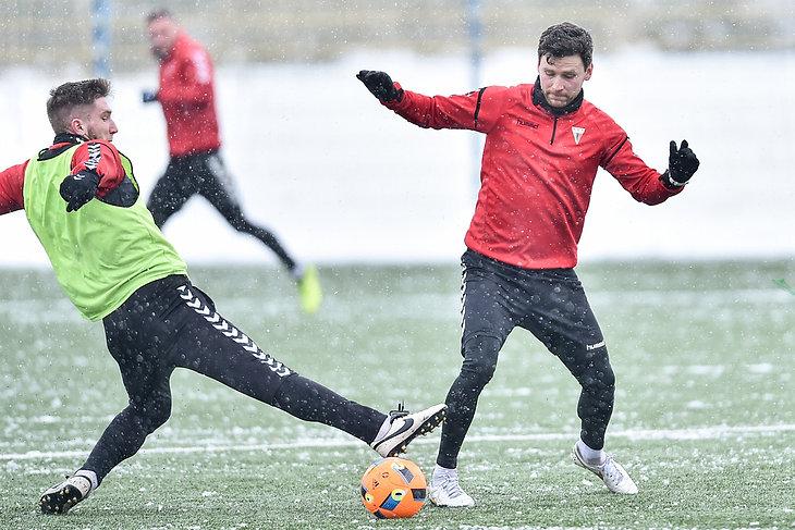 Gra wewnętrzna piłkarzy GKS Tychy